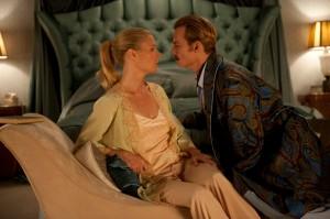 Charlie Mortdecai (Johnny Depp) und seine Frau Johanna (Gwyneth Paltrow) - Copyright: David Appleby