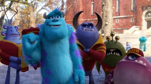 """MONSTERS UNIVERSITY"" (Pictured) SULLEY amongst other MU monsters. ©2013 Disney•Pixar. All Rights Reserved."